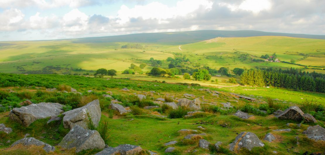 Yoga and walking on dartmoor